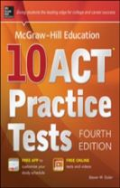 McGraw-Hill Education 10 ACT Practice Tests