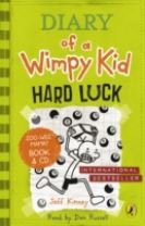 Diary of a Wimpy Kid: Hard Luck book & CD