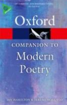 The Oxford Companion to Modern Poetry in English
