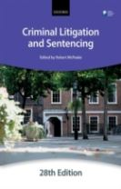 Criminal Litigation and Sentencing