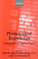 Phonological Knowledge
