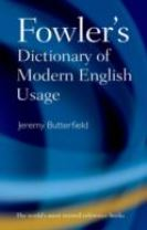 Fowler's Dictionary of Modern English Usage