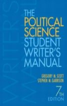 The Political Science Student Writer's Manual