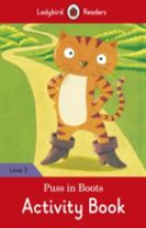 Puss in Boots Activity Book - Ladybird Readers Level 3