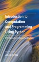 Introduction to Computation and Programming Using Python