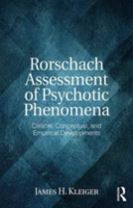Rorschach Assessment of Psychotic Phenomena