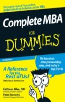 Complete MBA for Dummies, Second Edition