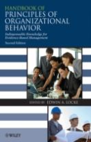 Handbook of Principles of Organizational Behaviour  - Indispensable Knowledge for Evidence-Based Management 2e