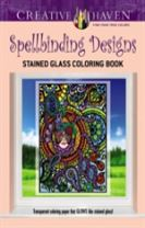 Creative Haven Spellbinding Designs Stained Glass Coloring Book (working title)