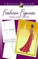 Creative Haven Fashion Figures Draw and Color