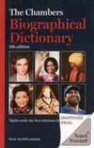 Chambers Biographical Dictionary Paperback