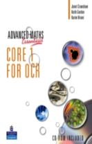 A Level Maths Essentials Core 1 for OCR Book, A Book and CD-ROM