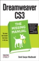Dreamweaver CS3 the Missing Manual