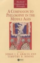 A Companion to Philosophy in the Middle Ages