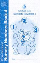 Nursery Numbers Book 4