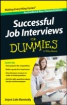 Successful Job Interviews for Dummies, Australian & New Zealand Edition