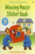Usborne First Experiences Moving House Sticker Book