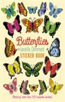 Janelle Dimmett Butterflies Sticker Book  Bs015