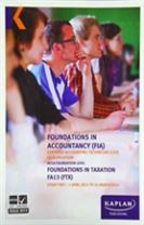 FTX Foundations in Taxation - Study Text