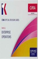 E1 Enterprise Operations - Revision Cards