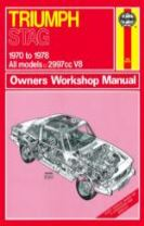Triumph Stag Owner's Workshop Manual