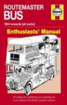Routemaster Bus Owners' Workshop Manual Paperback