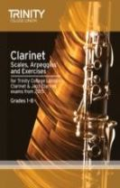 Clarinet Scales Grades 1-8 from 2015