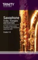 Saxophone Scales Grades 1-8 from 2015