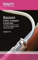 Bassoon Scales, Arpeggios & Exercises Grades 1 8 from 2017