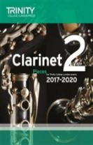 Clarinet Exam Pieces Grade 2 2017 2020 (Score & Part)