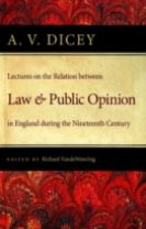 Lectures on the Relation Between Law & Public Opinion