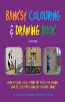 Banksy Colouring & Drawing Book