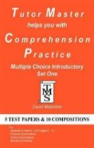 Tutor Master Helps You with Comprehension Practice - Multiple Choice Introductory Set One