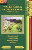 Walks Along Hadrians Wall: Middle Section. Map-Guide