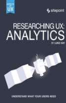 Researching UX - Analytics