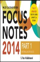 Wiley CIAexcel Exam Review 2014 Focus Notes