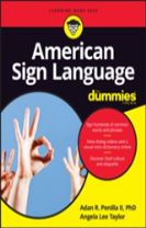 American Sign Language for Dummies + Videos Online