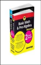 Basic Math & Pre-Algebra Workbook For Dummies with Basic Math & Pre-Algebra For Dummies Bundle