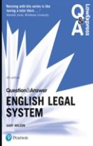 Law Express Question and Answer: English Legal System