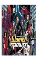 Heroes Of Power: The Women Of Marvel Standee Punch-out Book