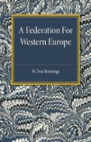 A Federation for Western Europe