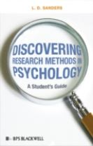 Discovering Research Methods in Psychology - a Student's Guide