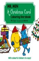 Mr Men A Christmas Carol Colouring Storybook