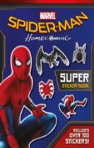 Spider-Man: Homecoming Movie Sticker Book