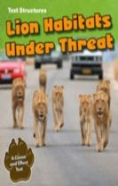 Lion Habitats Under Threat