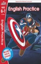Captain America: English Practice, Ages 6-7