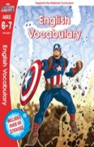 Captain America: English Vocabulary, Ages 6-7