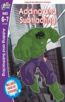 The Hulk: Adding and Subtracting, Ages 6-7