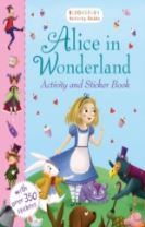 Alice in Wonderland Activity and Sticker Book