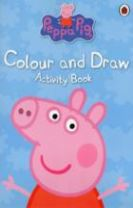 PEPPA PIG COLOUR AND DRAW